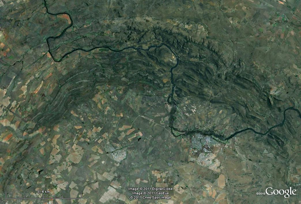 Vredefort from Space