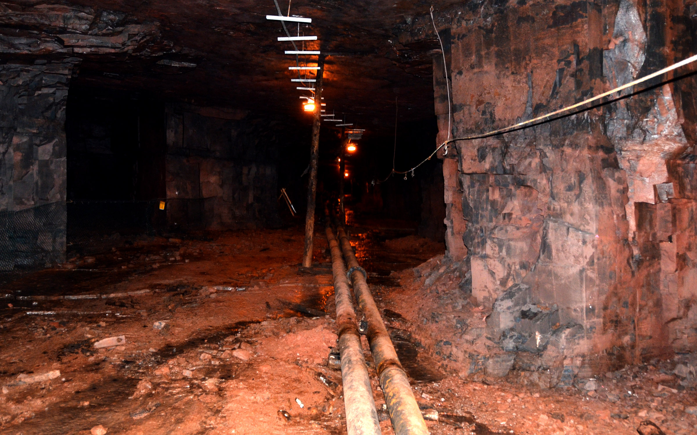 Figure 6: Inside the mine.