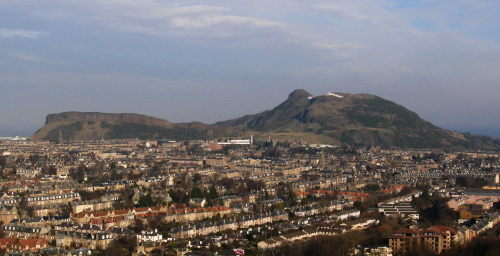 Arthur's Seat from the S