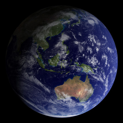 NASA's Blue Marble, 2002 edition