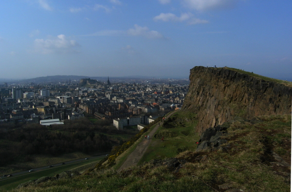 Edinburgh viewed from Salisbury Crags