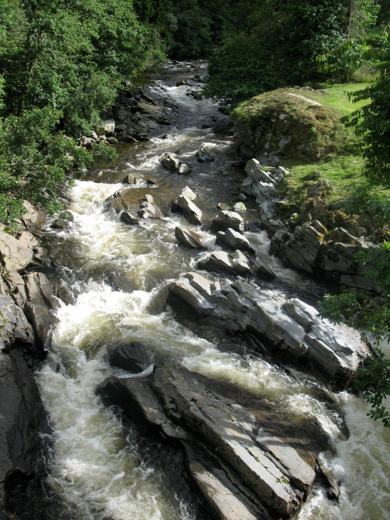 River Feshie at Feshiebridge, Cairngorms of Scotland (photo by A Jefferson)