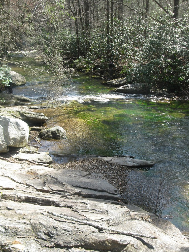 Jacob Fork River in South Mountains State Park, NC