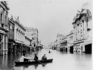 Flooding in Brisbane in 1893