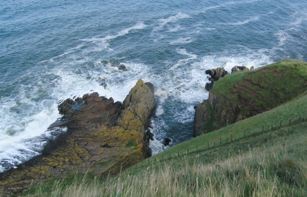 Hutton's Unconformity at Siccar Point