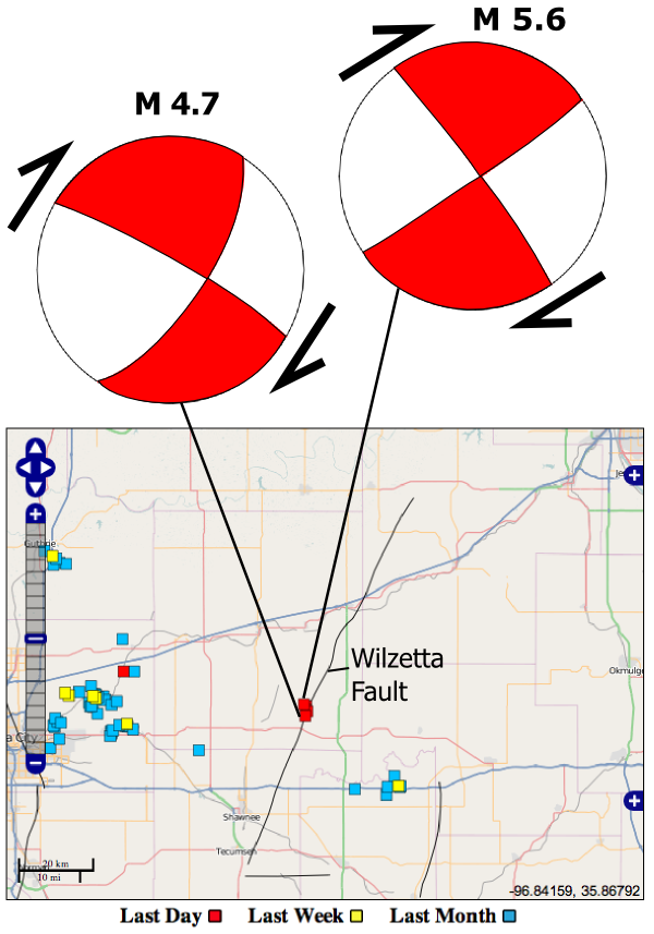 The Oklahoma Earthquakes | Highly Allochthonous