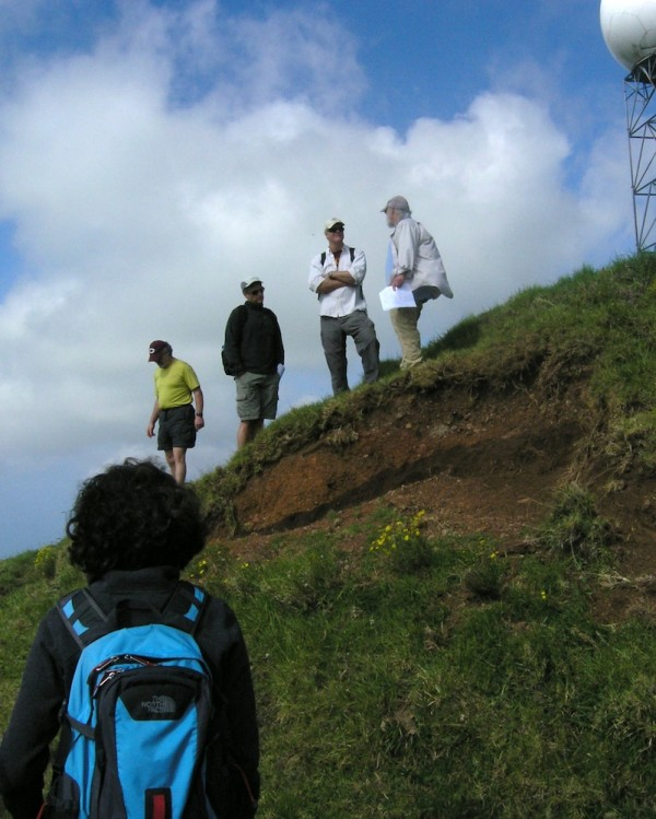 Soil on the summit of Kohala