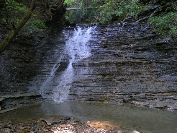 Buttermilk Falls in Cuyahoga National Park.