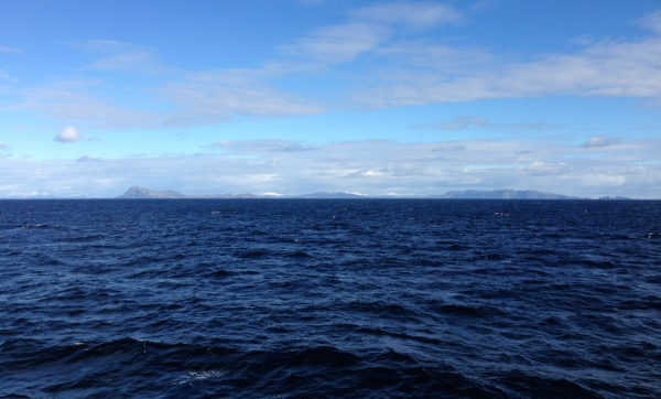 The end of our return journey across the Drake Passage.