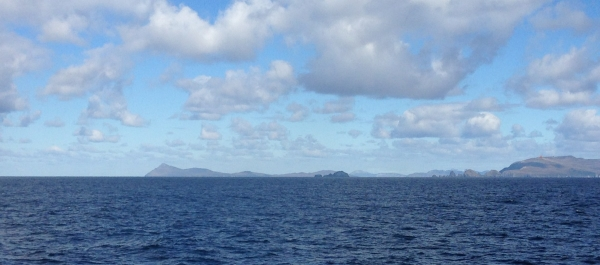 Our last glimpse of Cape Horn, as Corinthian heads back to Ushuaia. Photo: Chris Rowan, 2013.