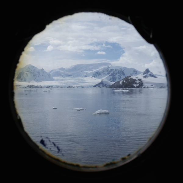 Morning view in Antarctica