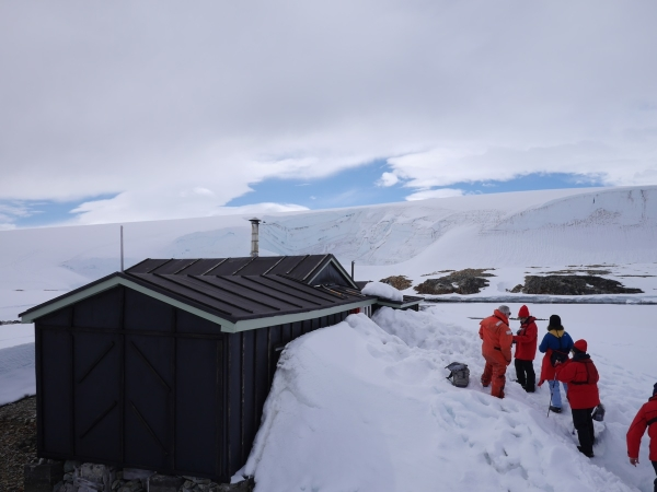 Wordie House, Antarctica