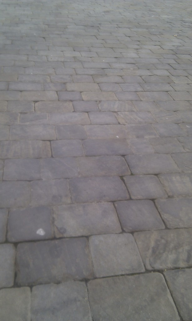 Macclesfield cobbled street