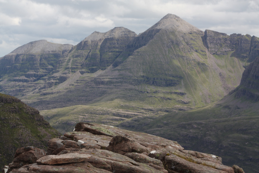 Torridonian sandstone on Liathach, courtesy of Sandchem