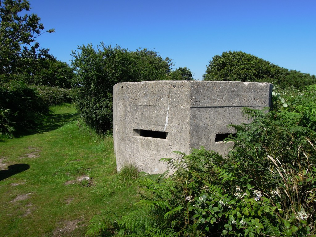 Second world war pillbox south of Walberswick