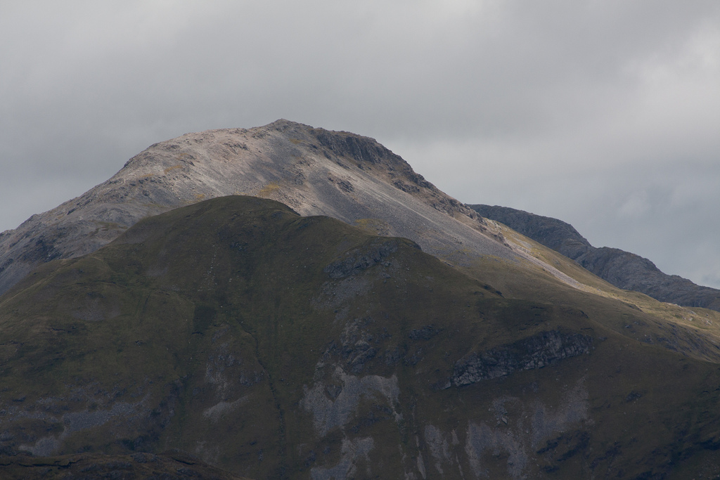 Picture of Argyll group sediments making up the Twelve bens mountains of Connemara. Image from Guilhem Boyer