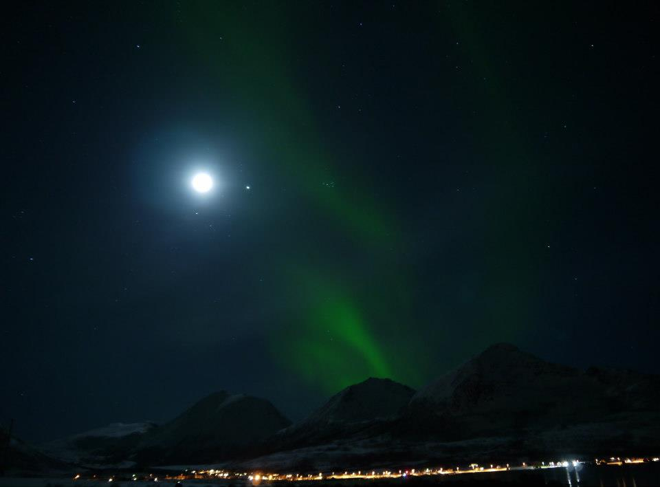 aurora from Tromvik