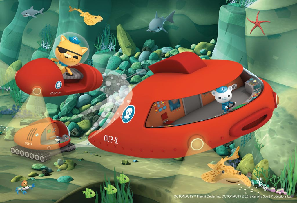 octonauts rocks