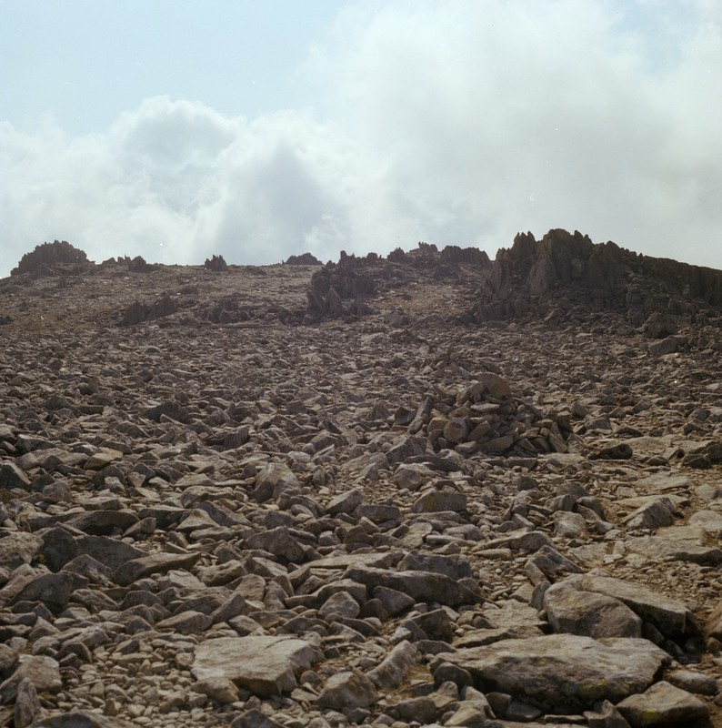 Summit block field of Glyder Fawr in Wales. Image courtesy of British Geological Survey. P222636 http://geoscenic.bgs.ac.uk/asset-bank/action/viewAsset?id=29270&index=23&total=38&view=viewSearchItem