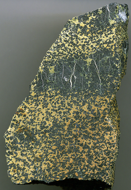 Chromite in Serpentinite. Source: James St. John on Flickr