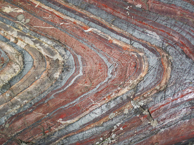 Banded Iron Formation. Source.