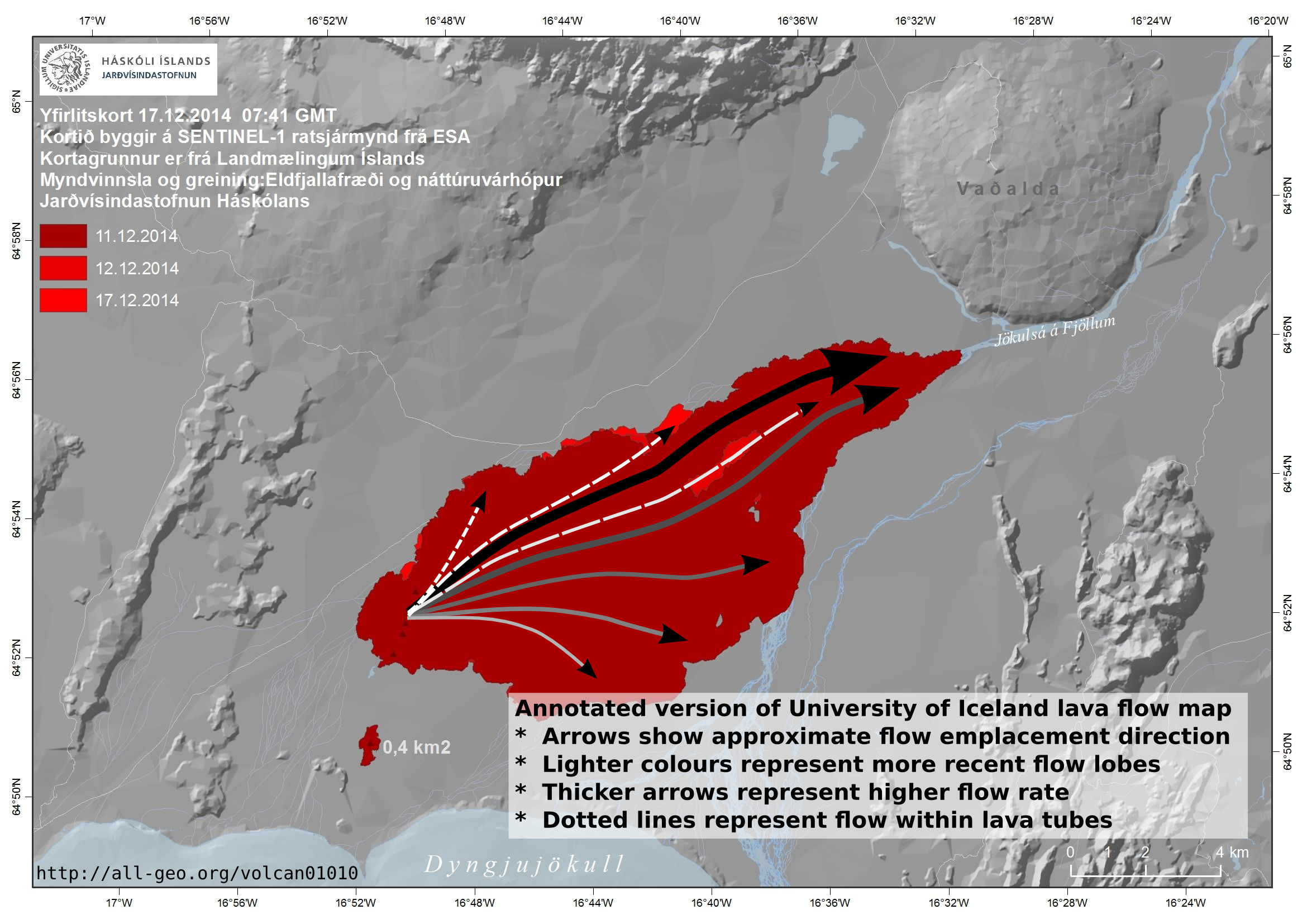 Volcan01010  Iceland volcano ash geology open source GIS python